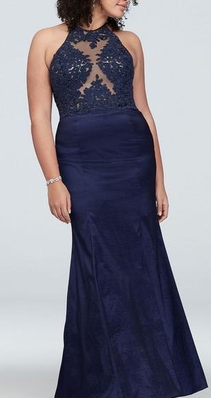 David\'s Bridal Prom Dress Plus-Size